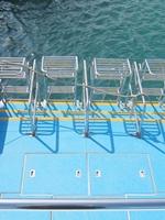 ダイビング船ラダー